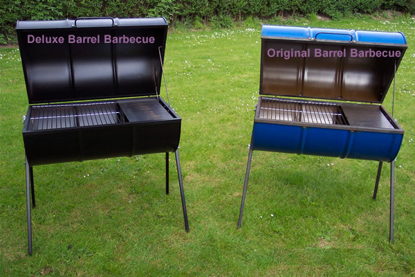 new barrel barbecues