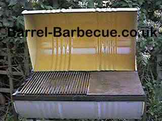 first barrel barbecue we ever made