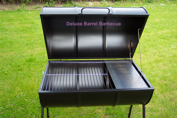 barrel barbecue as it is now